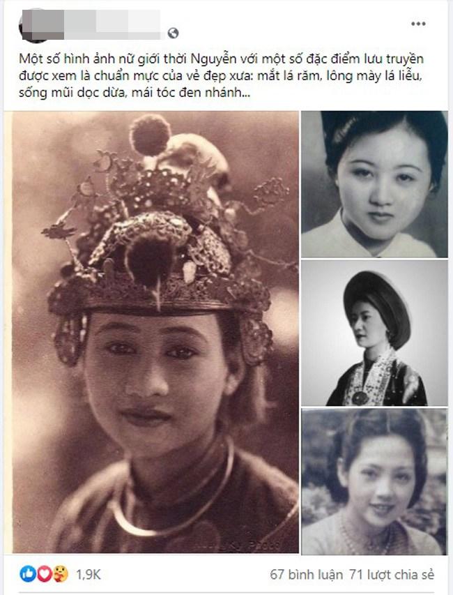 Mê mẩn loạt ảnh phục chế của những mỹ nhân Việt xưa sở hữu vẻ đẹp chuẩn mực - 1