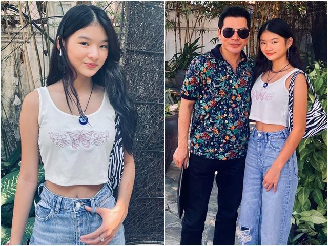 Sao Việt 24h: Ái nữ nhà Trương Ngọc Ánh mặc áo hở eo bên bố, Hoa hậu cũng vào khen