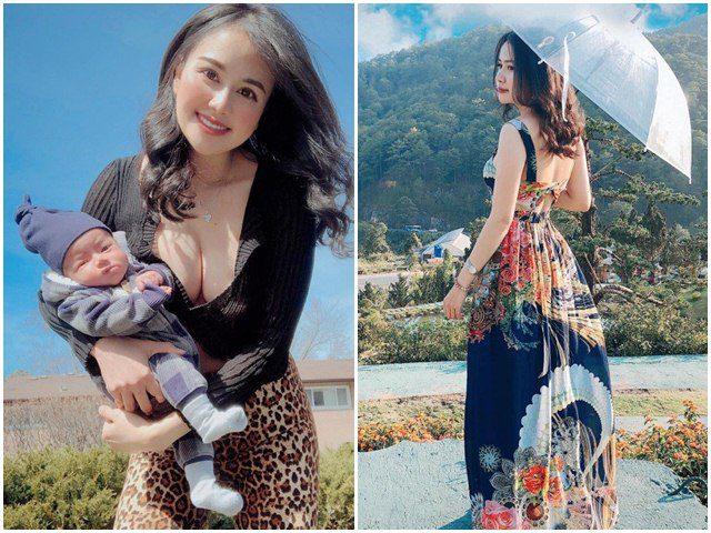 9X Việt khoe vòng một bốc lửa hút 15 nghìn lượt like, đời thực đang làm mẹ ở trời Tây