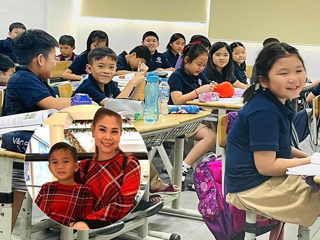 Jacky Minh Trí xuất hiện trong lớp học ở Việt Nam, Thanh Thảo và chồng trả học phí 120 triệu