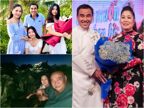 Chuyện tình 2 MC Bạn muốn hẹn hò: Quyền Linh lấy vợ giàu, Hồng Vân được chồng xây cả núi