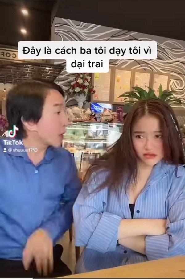 Quay clip cùng bố, con gái Kim Tử Long được chú ý vì nhan sắc xinh đẹp - 3