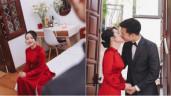 Sao Việt 24h: Giờ vợ Xuân Trường mới tung ảnh ngày vui, nhiều khoảnh khắc hôn nhau đắm đuối
