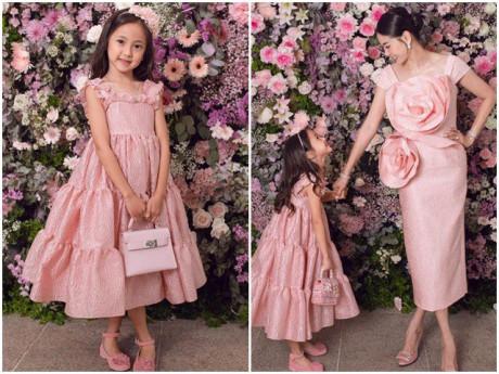 Đi sinh nhật, con gái Hoa hậu Hà Kiều Anh xinh như công chúa, lấn át cả nhân vật chính