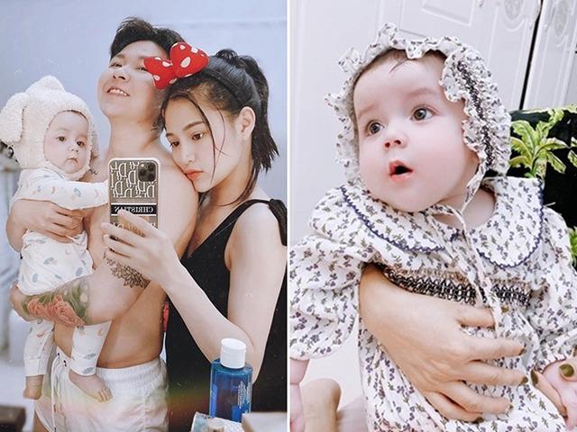 Cặp đôi chuyển giới Quảng Ninh xin giống Tây sinh con, em bé thiên thần nét nào ra nét ấy