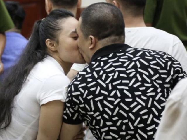 Tin tức 24h: Tranh luận về hình ảnh hotgirl Ngọc Miu hôn người tình Kính Dương tại toà