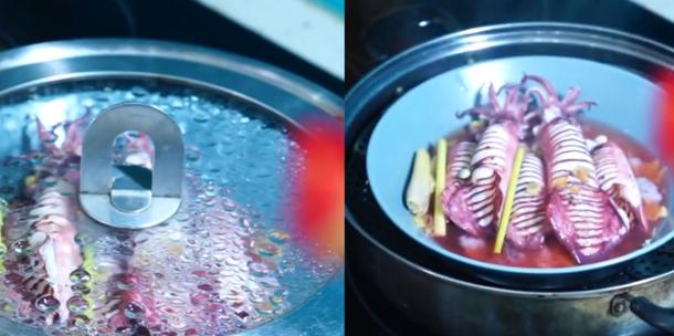 3 cách làm mực hấp bia giòn ngọt không bị tanh và nước chấm ngon - 4