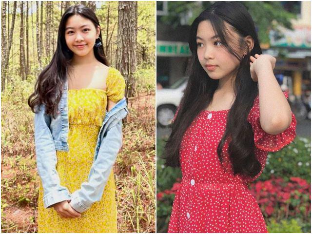 Con gái Quyền Linh đẹp như thiếu nữ ở Đà Lạt, ai cũng khen mặt xinh, thân thiện giống ba