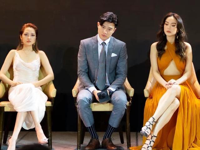 Phim lại hoãn chiếu: Quốc Trường may suit 3 lần chưa được mặc, Minh Hằng than nói sao cho ngầu