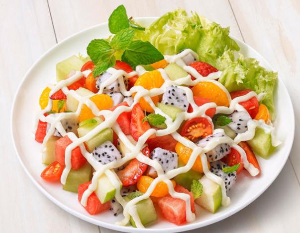 Cách làm salad hoa quả đơn giản và các loại sốt ngon - 13