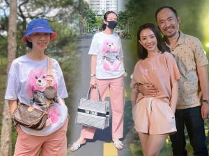 Xách túi nghìn đô ra phố, Thu Trang vẫn ăn mặc giản dị bất ngờ, không quên item hack tuổi