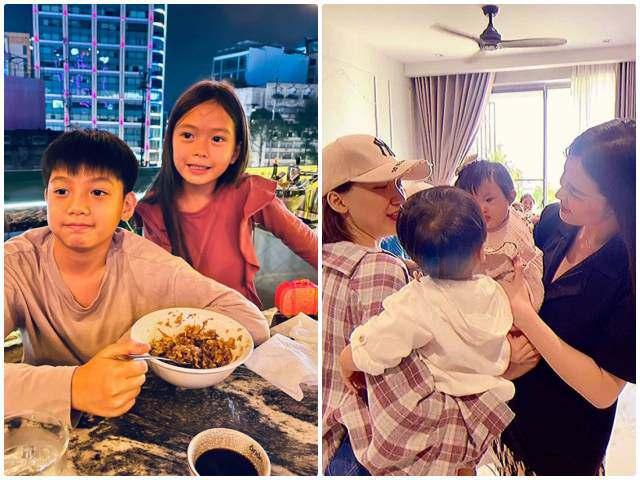 Dàn sao VIP cho con gặp nhau: con Đoan Trang-Hà Hồ đẹp đôi, con Đông Nhi-Hoà Minzy hài hước