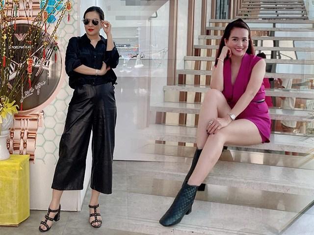 Giảm tận 4kg, bà xã Bình Minh đổi ngay gout ăn mặc, khoe dáng đẹp mê ly