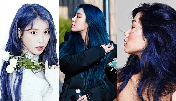 Những màu tóc xanh dương đẹp độc lạ hot nhất hiện nay