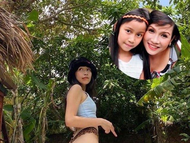 Ảnh con gái Mỹ Linh theo mốt tụt quần khoe trọn vòng 3: Cô bé giờ đã quá táo bạo