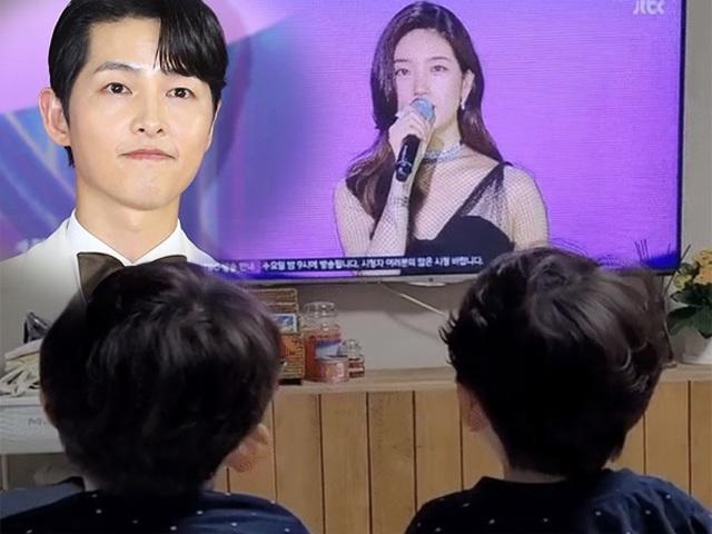 Ngôi sao 24/7: Cháu trai cổ vũ Song Joong Ki giành giải nhưng bỏ quên chú, quan tâm người khác