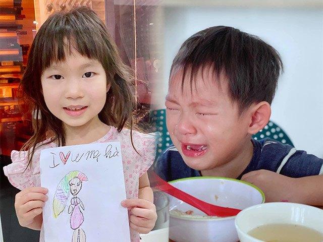 Hai thiên thần nhà Lý Hải - Minh Hà tự cắt tóc và đây là thành phẩm!