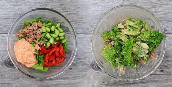 Cách làm salad cá ngừ ngon tại nhà nhiều dinh dưỡng - 4