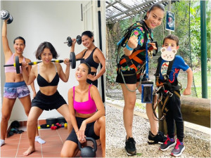 Sao Việt 24h: Cuộc sống của Thu Minh và chồng con khi bị mắc kẹt ở Singapore nhiều tháng