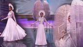 """Miss Universe: Khánh Vân như nàng công chúa bước ra từ Kén em, fans quốc tế hô to """"Việt Nam"""""""