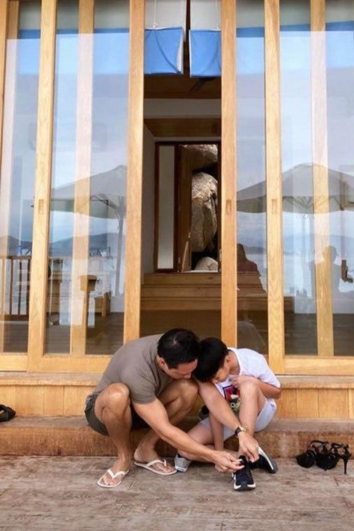 Kim Lý và Cường Đôla liên tục lên tiếng thể hiện trách nhiệm làm bố với Subeo - 4
