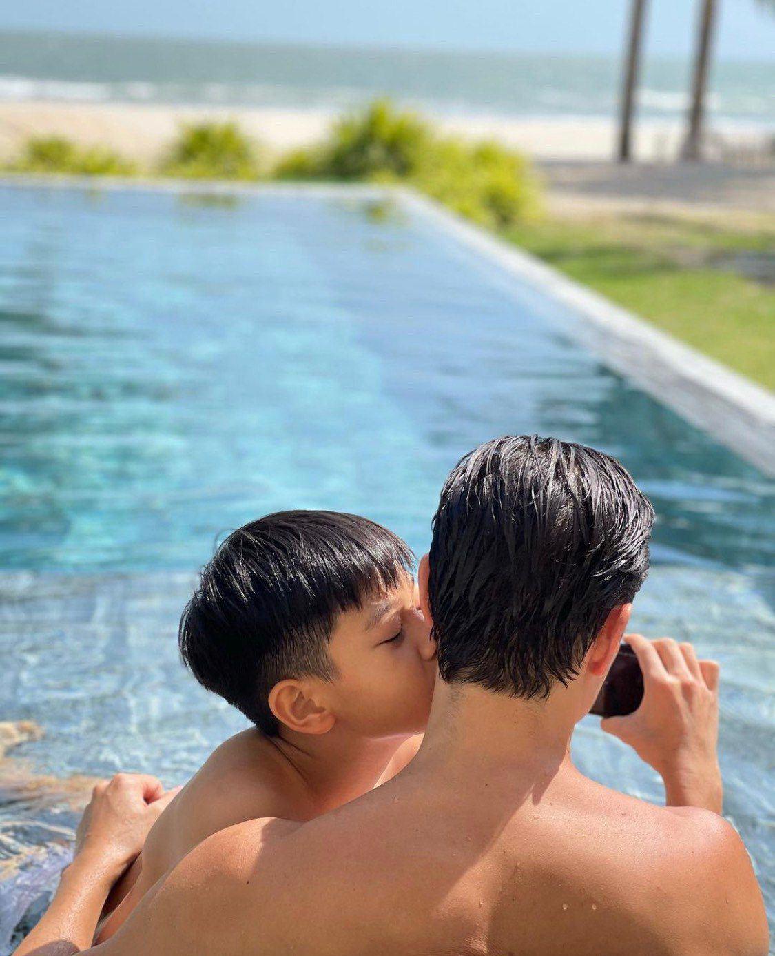 Kim Lý và Cường Đôla liên tục lên tiếng thể hiện trách nhiệm làm bố với Subeo - 5