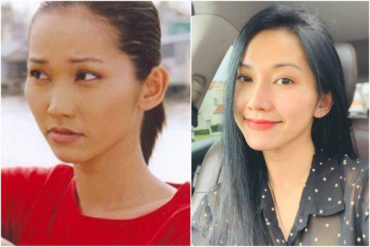Út ráng Kim Hiền nhuộm tóc vàng hoe như gái Tây, 16 năm mới chơi lớn một lần