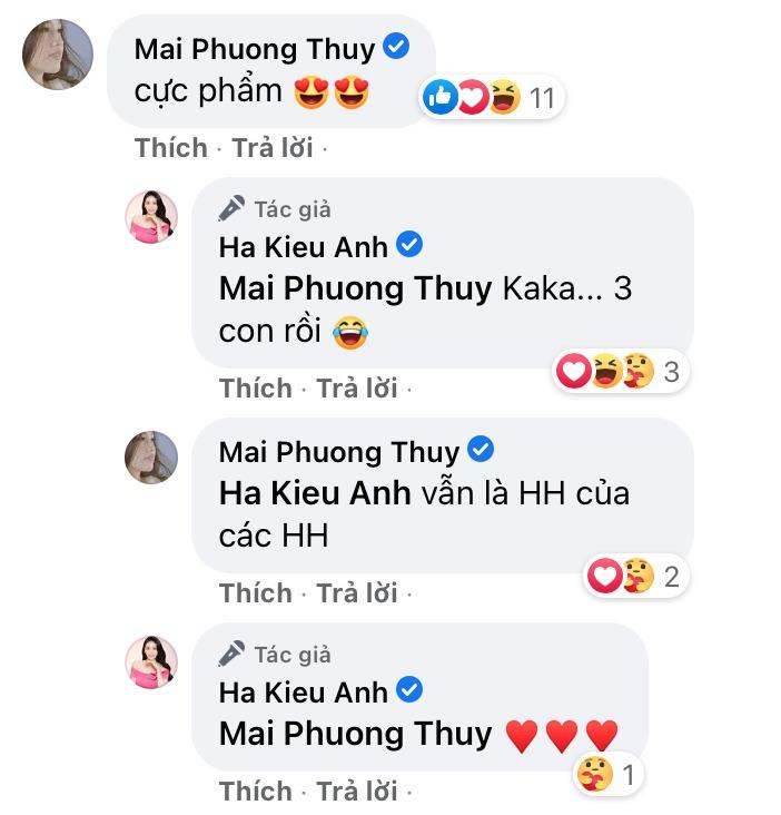 Hoa hậu Hà Kiều Anh cóbáu vật hình thể amp;#34;lấn átamp;#34; gái 18, đến Mai Phương Thuý cũng xuýt xoa - 7