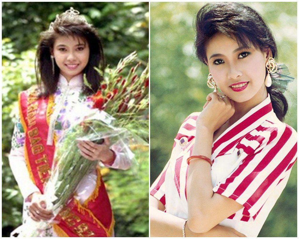 Hoa hậu Hà Kiều Anh cóbáu vật hình thể amp;#34;lấn átamp;#34; gái 18, đến Mai Phương Thuý cũng xuýt xoa - 1