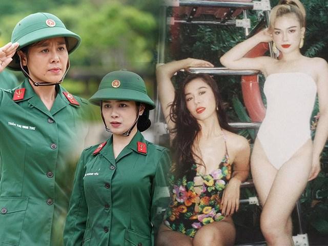 2 mỹ nhân Sao nhập ngũ diện bikini thả thính: U35 mà body nức nở, khác hẳn thời vào trại