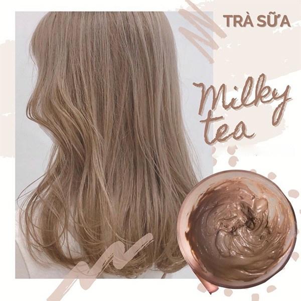 Những màu tóc trà sữa sành điệu hot trends được yêu thích nhất năm 2021