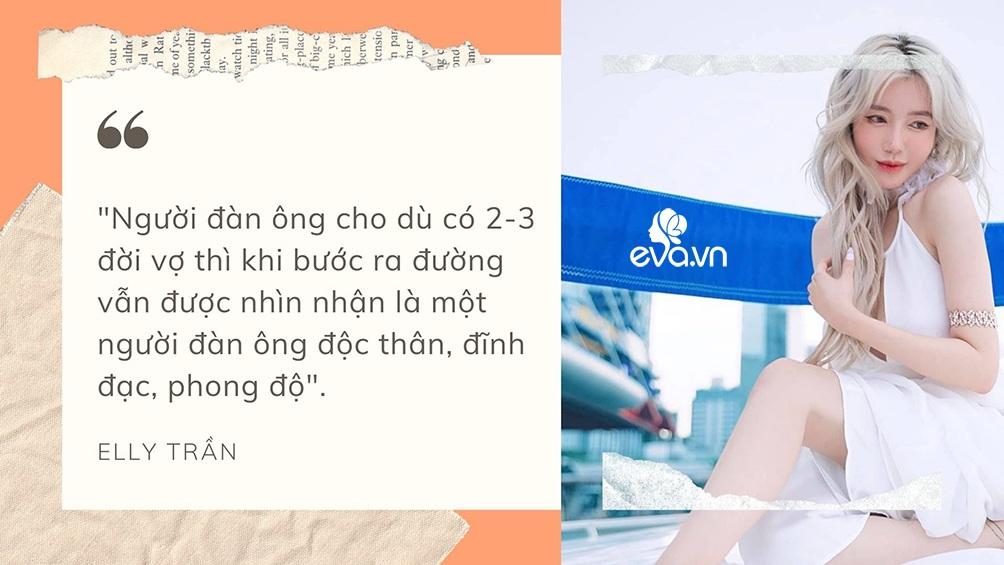 Phát ngôn đáng tranh luận của Elly Trần về sống thử, tình một đêm, amp;#34;tuesdayamp;#34; và đàn ông ngoại tình - 2