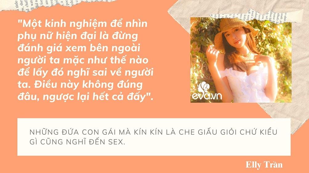 Phát ngôn đáng tranh luận của Elly Trần về sống thử, tình một đêm, amp;#34;tuesdayamp;#34; và đàn ông ngoại tình - 7