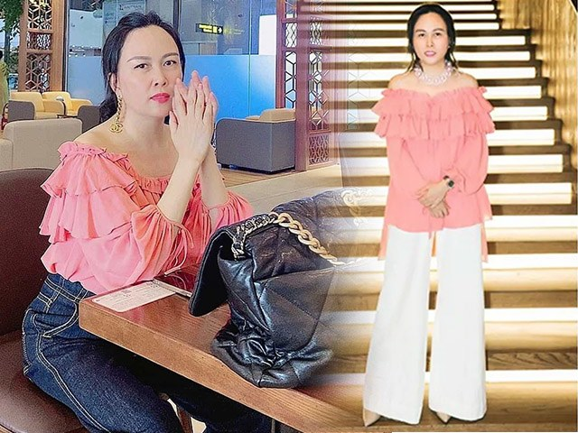 Phượng Chanel mặc lại áo cũ 3 năm trước, cách phối cao tay hơn hẳn