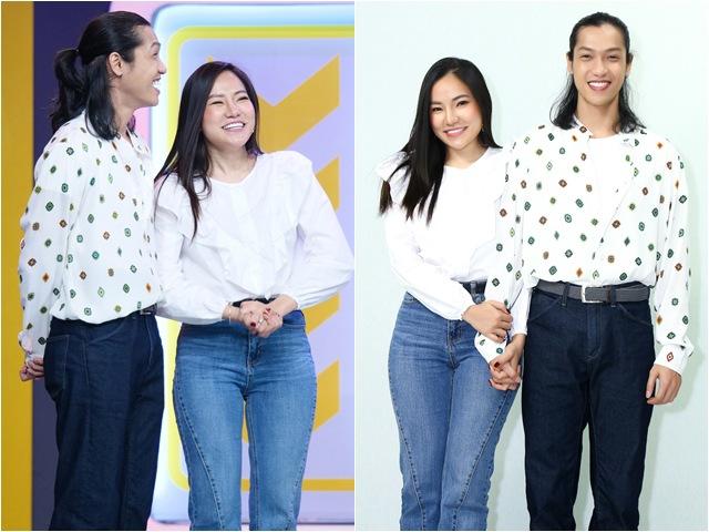 Lý Phương Châu và bạn trai tóc dài tình tứ khiến MC lên tiếng: Làm ơn đừng âu yếm nhau