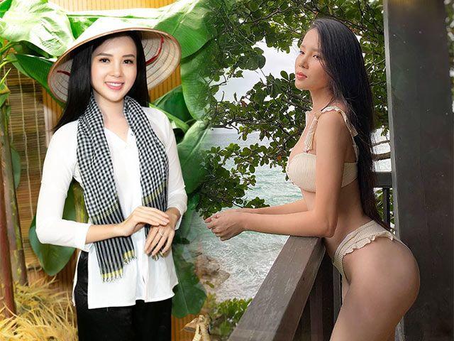 Hoa khôi Cần Thơ thích diện áo bà ba, thỉnh thoảng khoe body cực phẩm với bikini