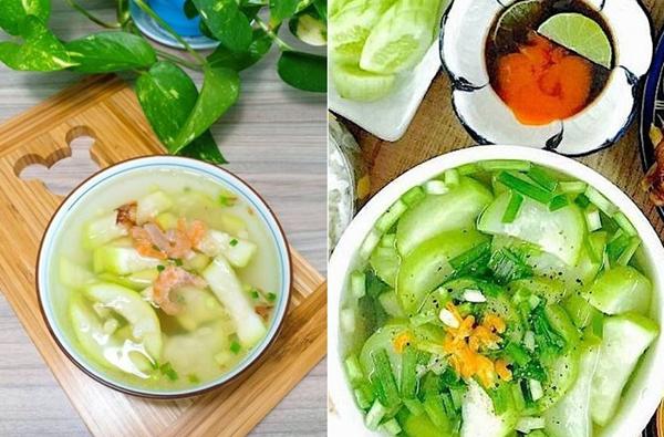 2 cách làm canh bầu nấu tôm ngon, ngọt nước dễ nấu - 8