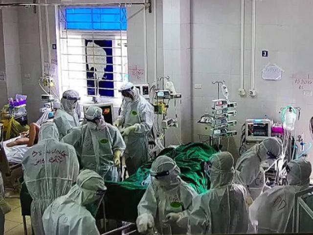 Hai ca COVID-19 nặng phải đặt ECMO ở Bắc Giang, một là thai phụ 26 tuổi