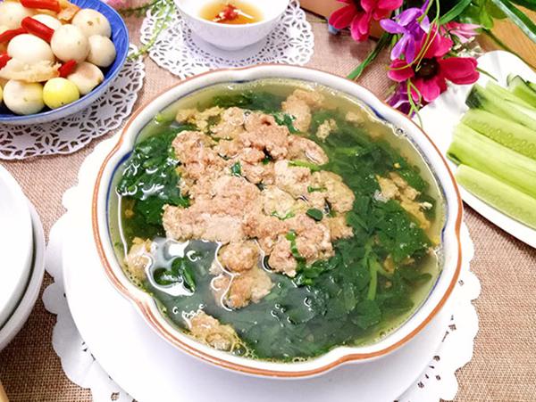 6 cách nấu canh mồng tơi ngon thanh mát dễ ăn - 21