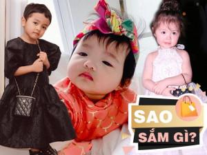 Sao Sắm Gì: Đi tìm bà mẹ sắm hàng hiệu nhiều nhất cho con trong showbiz Việt
