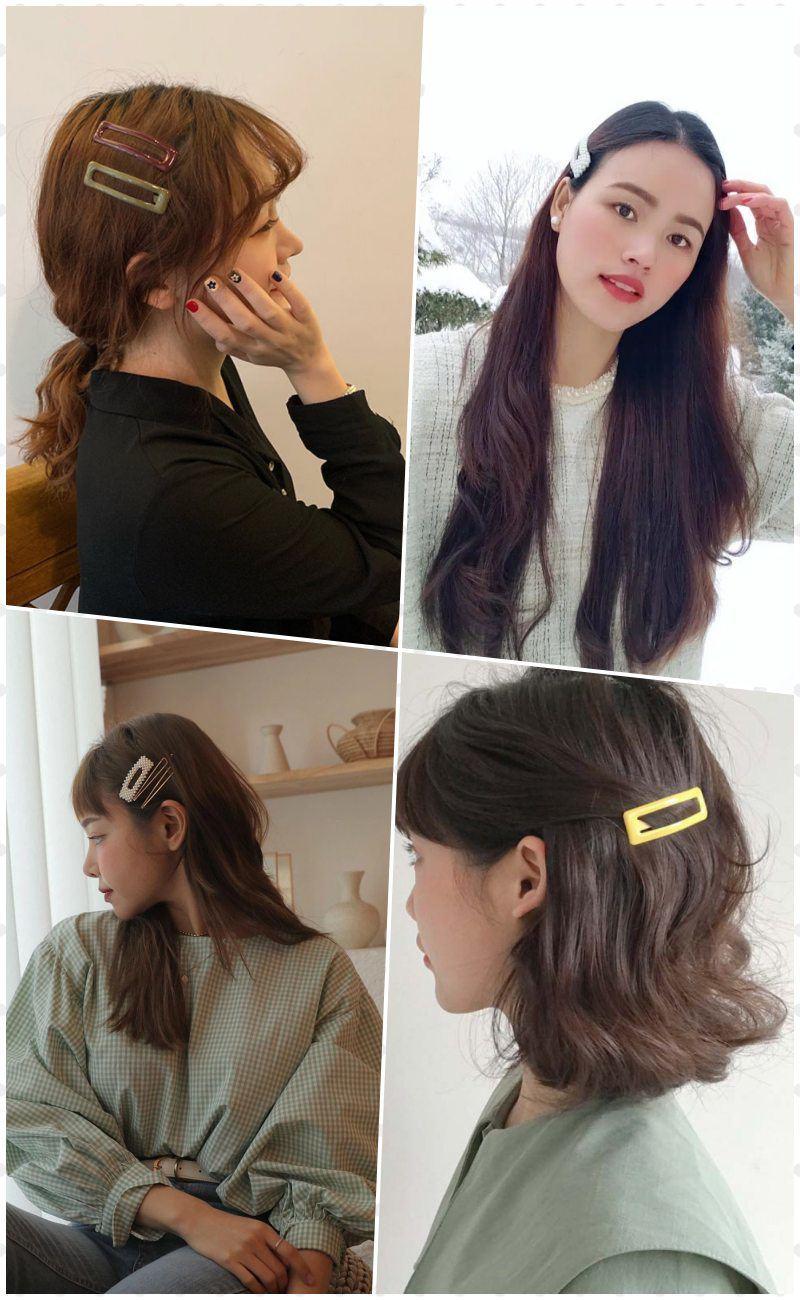 Eva Pick: Móc víchưa đến 10K sắm đủ loại kẹp cài, nàng có ngaymái tóc vừa mát vừa xinh