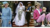 Nể phục tài tái hiện váy áo của cố công nương Diana trên màn ảnh nhỏ