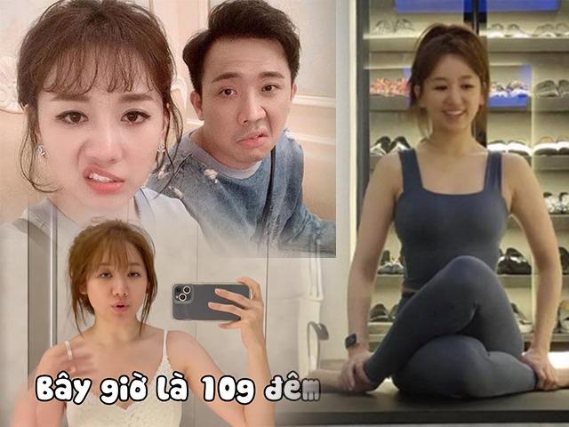 Chồng gây trở ngại giảm cân, Hari Won hùng hục tập tành đến đêm: Kết quả quá choáng