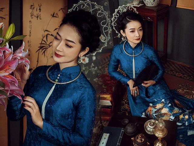U50 quanh năm mực thước với áo dài vì tôn thờ vẻ đẹp cốt cách người Hà Nội