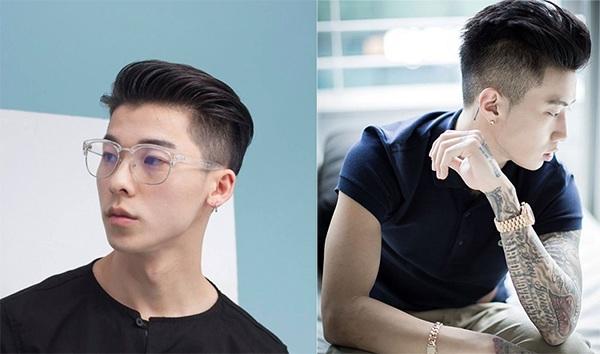 10 kiểu tóc nam ngắn mặt tròn nam tính phong cách hot nhất hiện nay