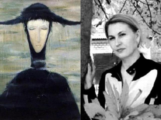 Bí ẩn bức tranh ma ám người phụ nữ trong mưa, 3 người mua thì cả 3 đòi trả lại