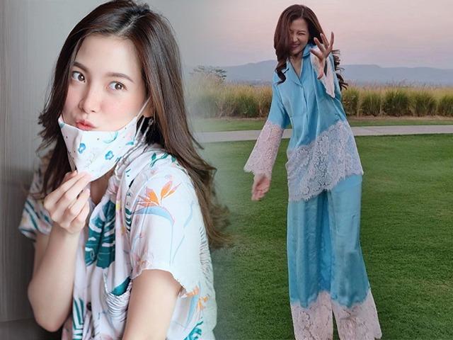 Đệ nhất mỹ nhânThái ăn diện mùa dịch: Đồ bộ cũng hoá hàng hiệu, outfit nào cũng mát rượi