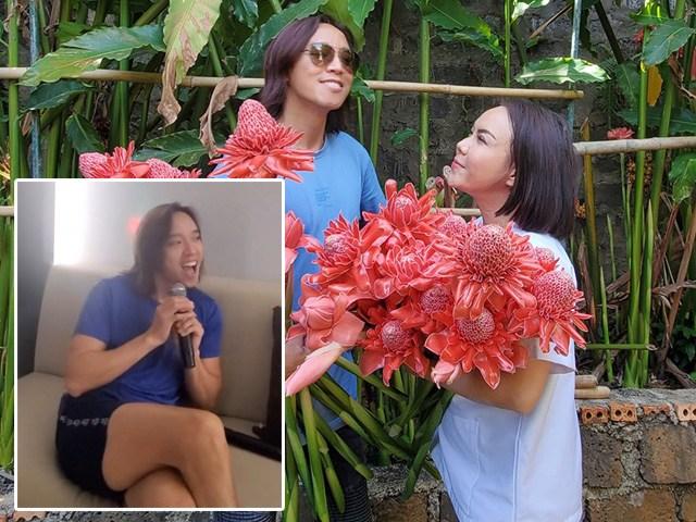 Vợ là danh hài, chồng tóc dài của Việt Hương quá duyên khiến cô chỉ biết cười khành khạch