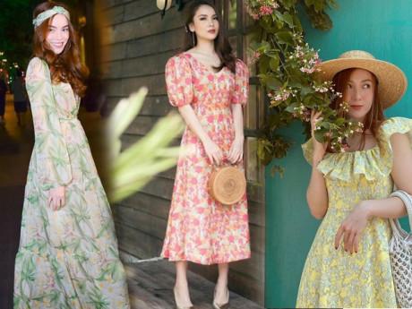 Khéo chọn phụ kiện khi diện váy hoa, các mỹ nhân Việt trông nổi bật lại sang xịn ngút ngàn