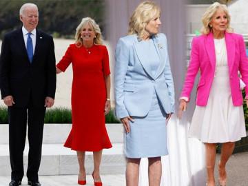 Đến thăm Anh, vợ tổng thống Mỹ kết thân váy đầm trẻ trung, có bộ nổi không kém Kate Middleton